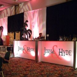 Custom event decorations and bar for Jekyll & Hyde