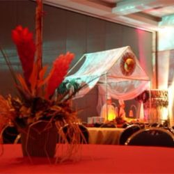 Event planning with personalized event decorations