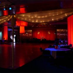 Personalized event lighting and event decorations