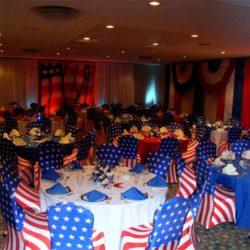 Patriotic event decorations