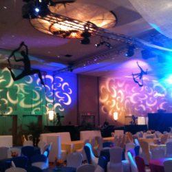 Custom event lighting services