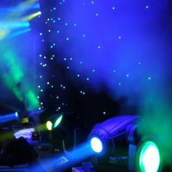 Professional event lighting in Fort Collins
