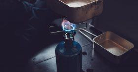 a propane burner