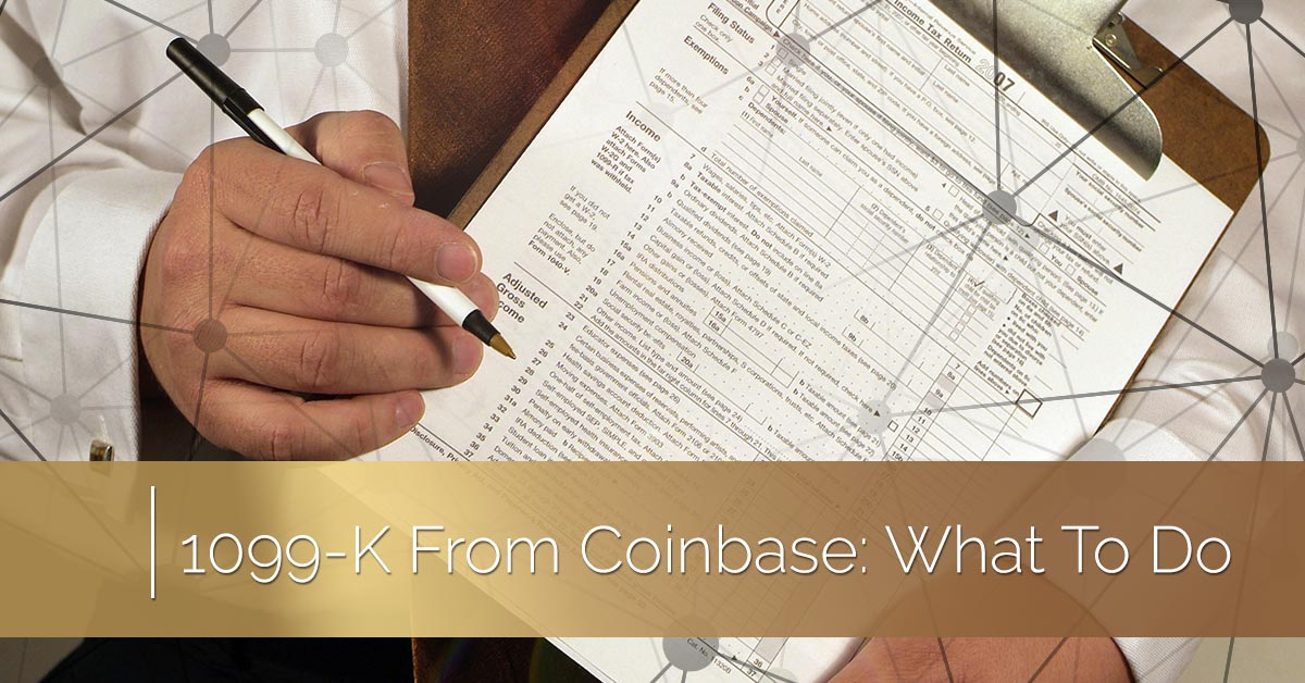 Charlotte Cryptocurrency Tax Help 1099 K From Coinbase What To Do