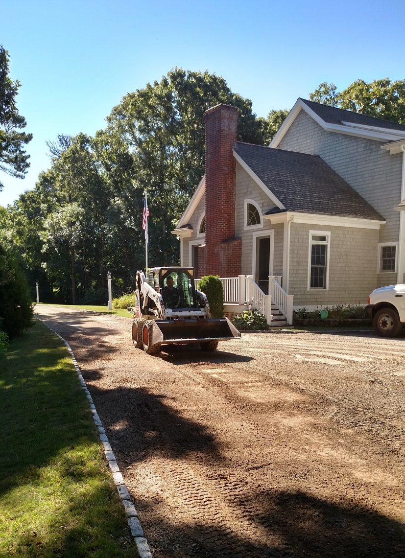 bobcat-driveway-installation