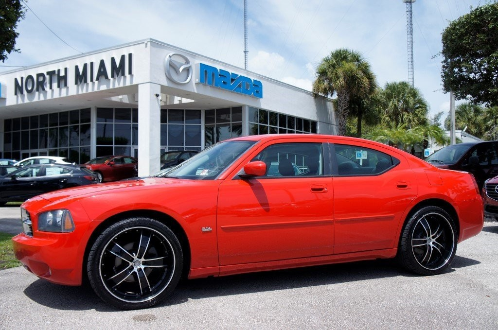 North Miami Mazda Red Dodge Charger by CarData