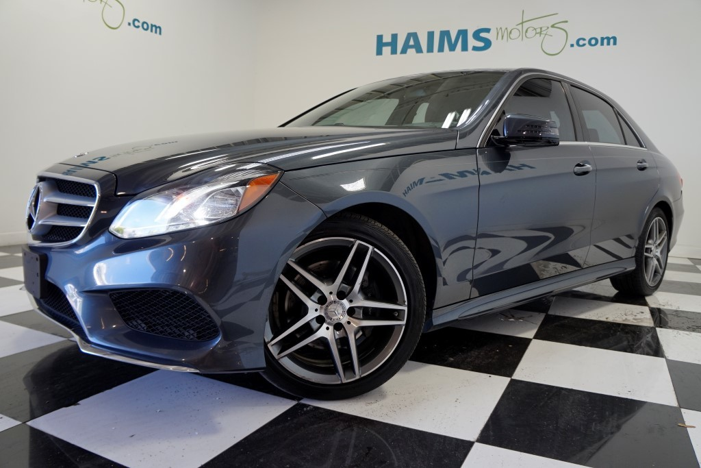 Blue Mercedes Benz at Haims Motors.com by CarData
