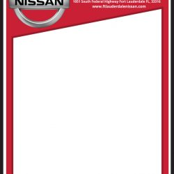 Fort Lauderdale Nissan Window Sticker by CarData