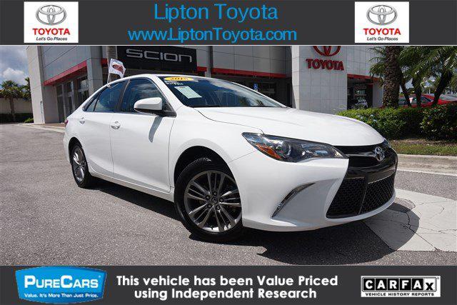 Lipton Toyota White Toyota at dealership by CarData