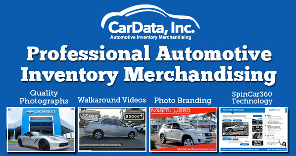 Professional Automotive Inventory merchandising ad by CarData