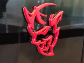 Dodge Demon Logo taken by CarData