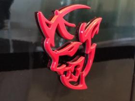 Dodge Demon Logo taken by CarData