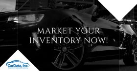 Market your Inventory Now banner from CarData