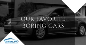 Our Favorite Boring Cars CarData Banner