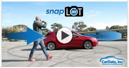 CarData, Inc. SnapLot360 Video image Walkaround