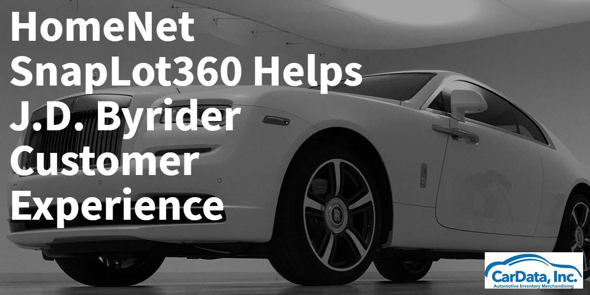 Homenet SnapLot 360 Helps JD Byrider Customer Experience