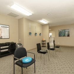 Injury treatment group room at Cardinal Physical Medicine