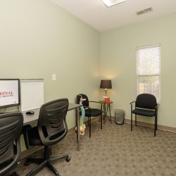 A room for injury treatment at Cardinal Physical Medicine