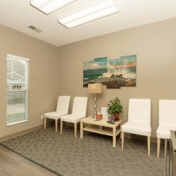 Lobby of Cardinal Physical Medicine chiropractic clinic