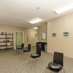 Group treatment room at the Cardinal Physical Medicine wellness clinic