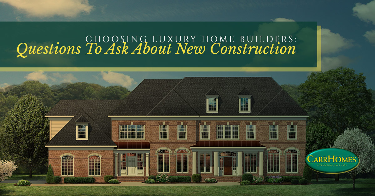 Luxury Home Builders Hamilton Questions To Ask Your Builder
