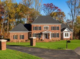 A red brick designer home created by CarrHomes in Hamilton.