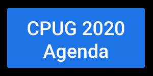 CPUG 2020 Agenda
