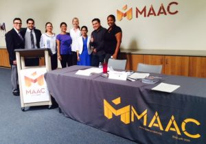 MAAC Bridge To Employment Employer Social October 2, 2014