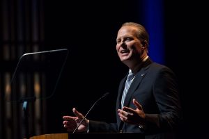 Mayor Faulconer Delivers the State of the City address Photo by Milan Kovacevic for the San Diego Union Tribune
