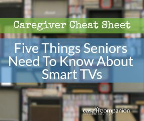 Five Things Seniors Need To Know About Smart TVs