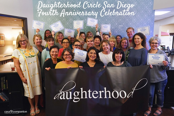 Daughterhood Circle San Diego The Party The Video And The Chat Fest