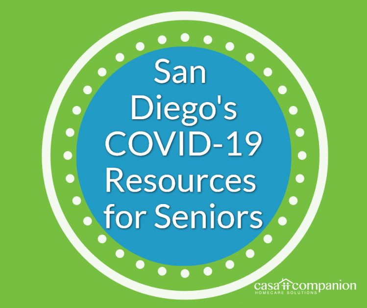 San Diego's COVID-19 Resources Seniors