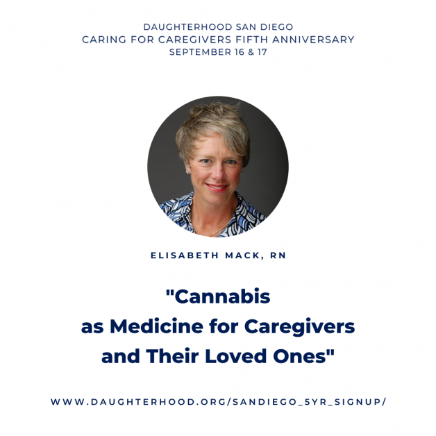 Cannabis as medicine for caregivers and their loved ones