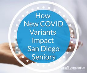 How New Variants Could Impact San Diego Seniors