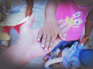 casa child hand