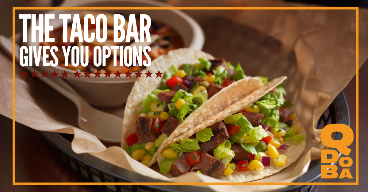 Taco Catering North Platte: The Taco Bar Gives You Options!
