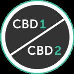 CBD 1 and 2 Icon