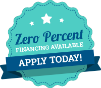 Zero Percent Financing Available