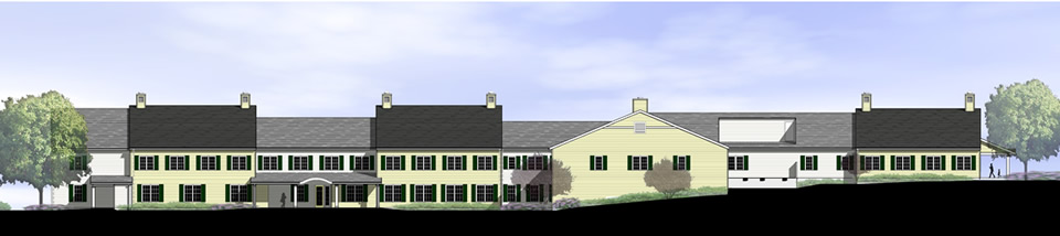 Cedar Hill Expansion-North Elevation