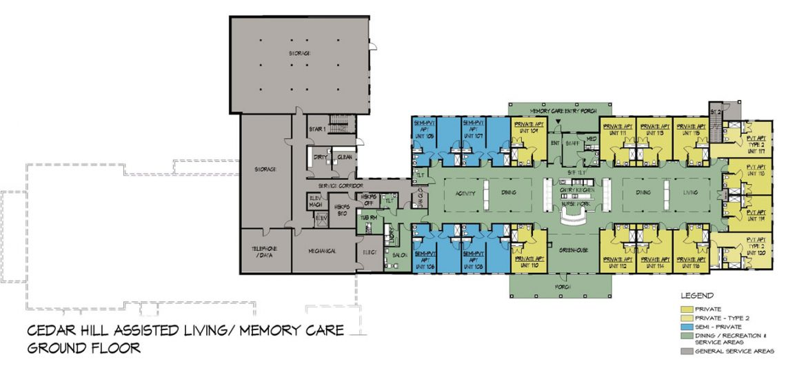 Memory Care Unit - Ground Floor
