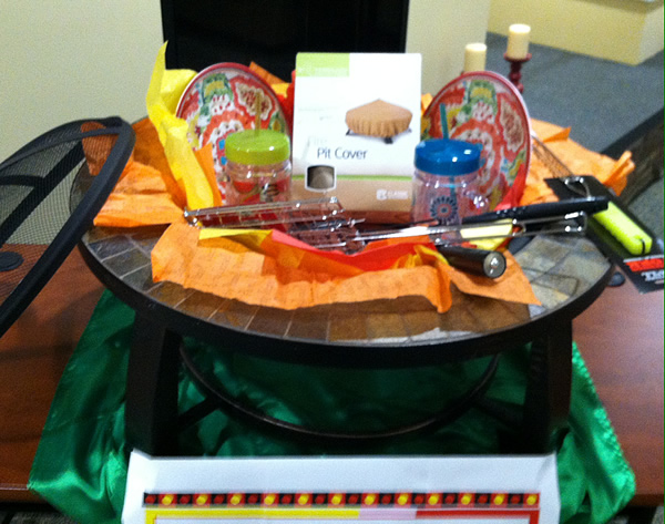 Fire Pit Raffle Prize