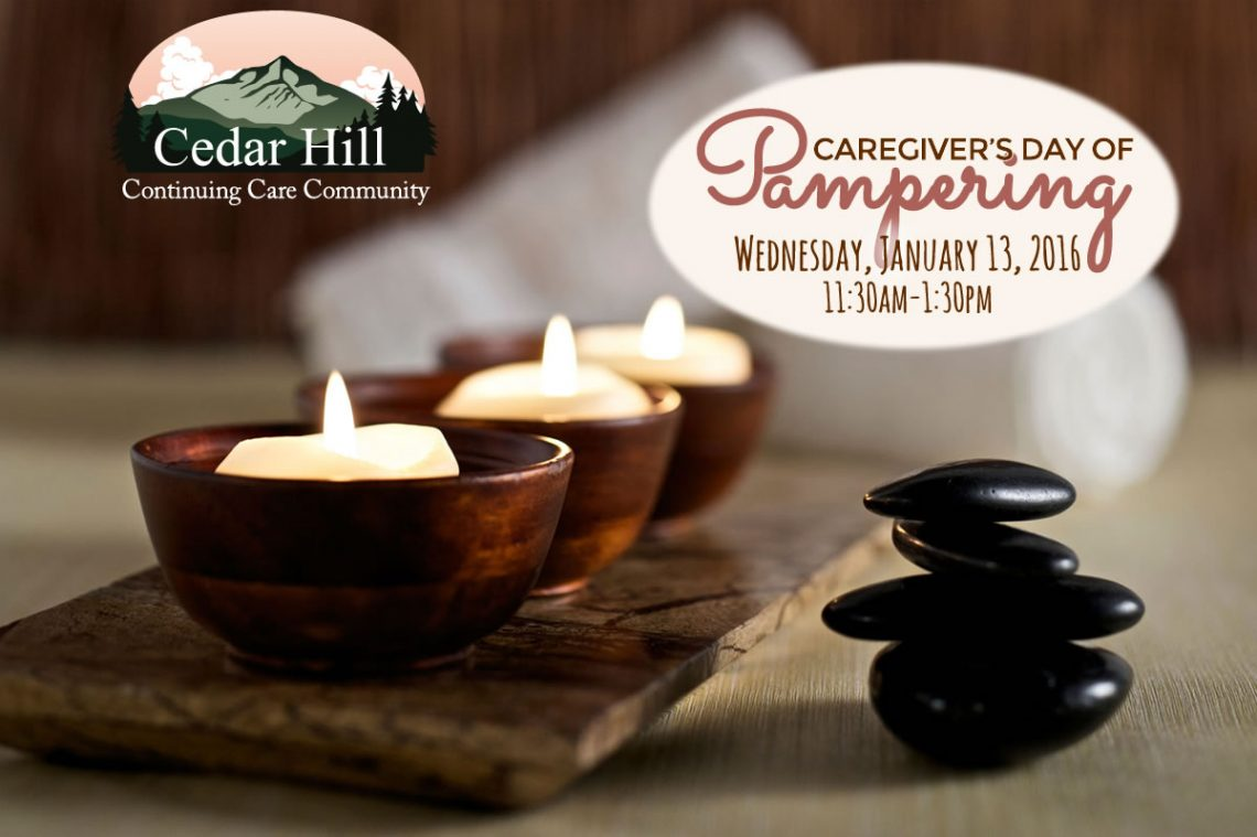 Caregivers Day of Pampering, January 13 2015