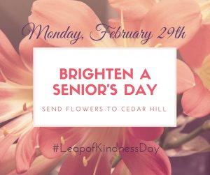 Brighten a Senior's Day