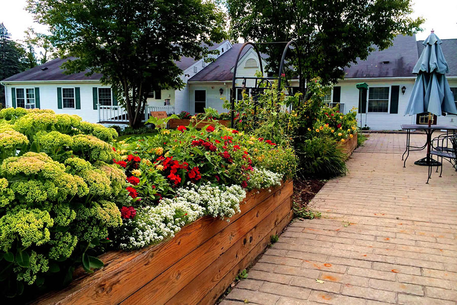 Gardens at Vermont Alzheimer's care center