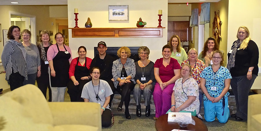 Windsor retirement village staff members