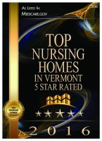 2016 Best Nursing Homes in Vermont Award