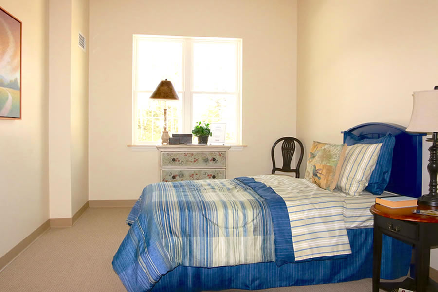 Bedroom in Windsor nursing home