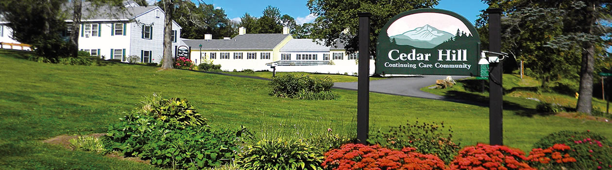 Vermont dementia care facility campus photo