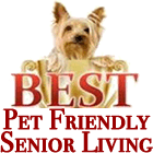 Best pet Friendly Senior Living Award
