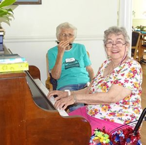 Residents of Windsor retirement home play music